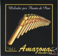 Amazonas - Melodie per Flauto di Pan. Vol.1