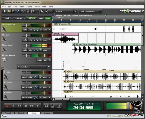 لعشاق الهندسة الصوتية صانع اللوبات الشهير AcousticaMixcraft.6.0.185 حصري عندنا ....